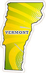 State of Vermont Magnets